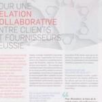 Pour une relation collaborative entre clients et fournisseurs réussie