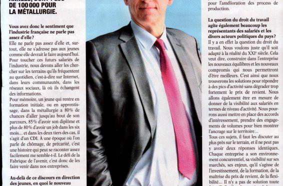 l'avenir de l'industrie en France