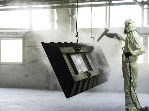 grenaillage métal