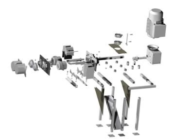 vue éclatée prototype