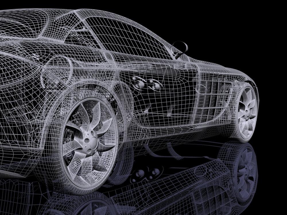 impression 3D automobile