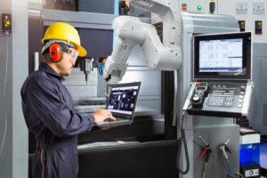 production industrielle robot