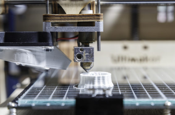 impression 3D fabrication additive